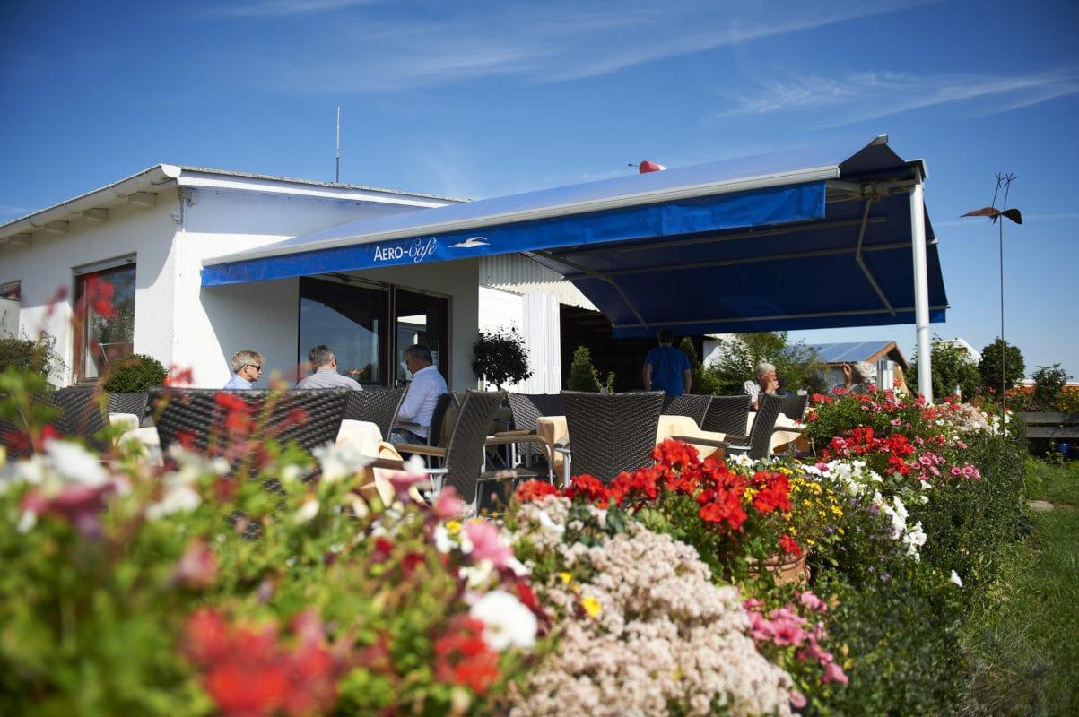 Terrasse (Aero-Cafe Bad Wörishofen)
