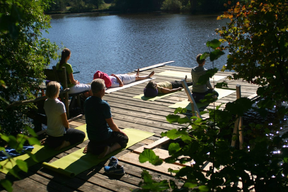Meditation am See (Akademie Rückenwind)