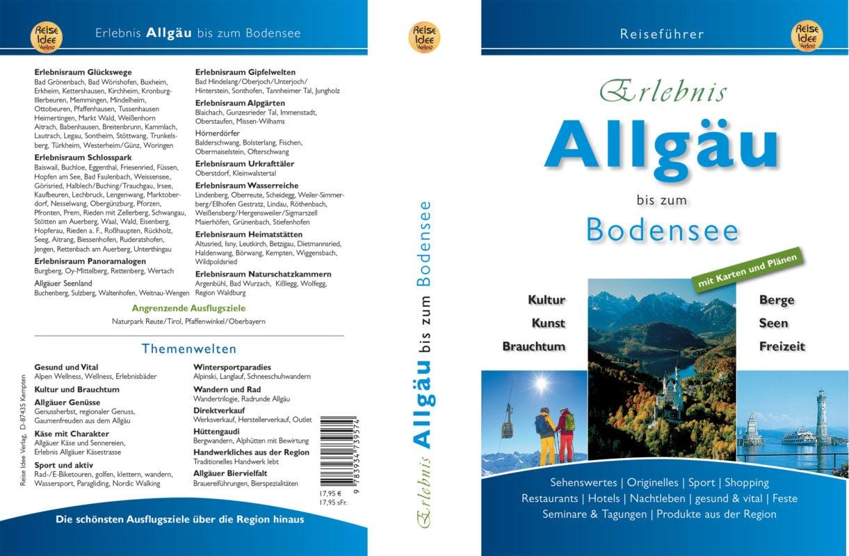 Allgäu-Bodensee Umschlag