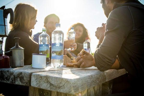 Gesunder Genuss (Allgäuer Alpenwasser)