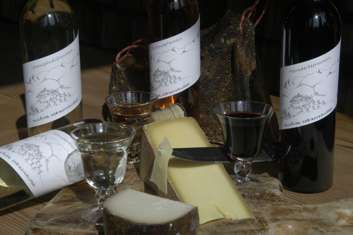 Weinprobe (Allgäuer Gebirgskellerei Wertach)