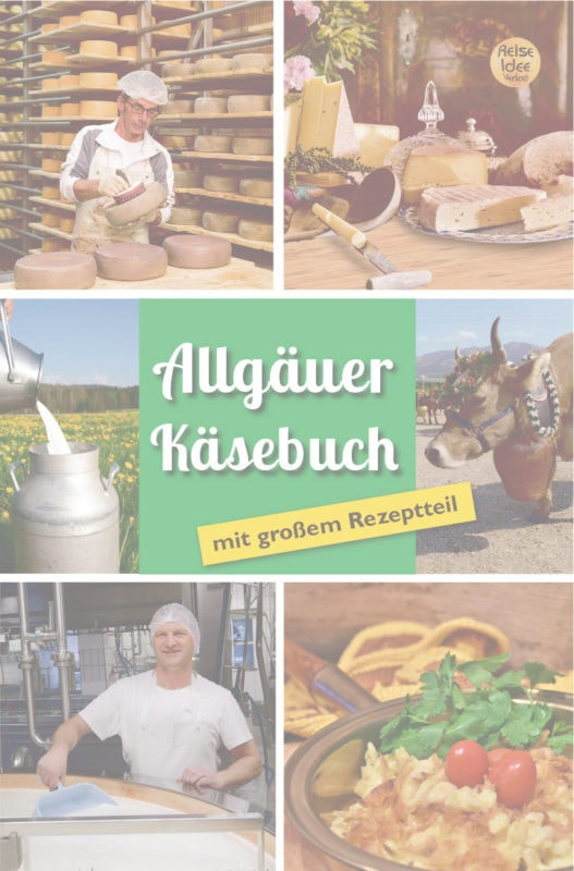 Allgäuer Käsebuch Titel Vorschau