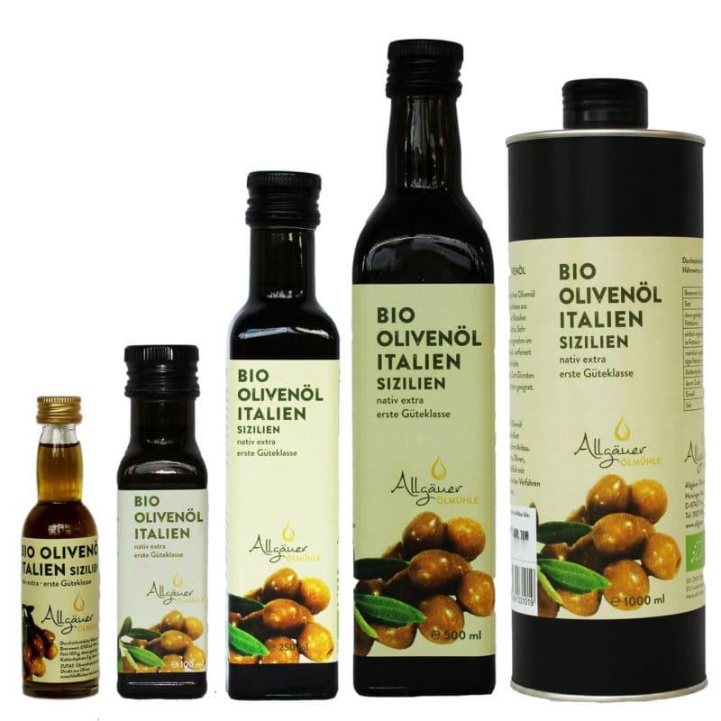 Bio Olivenöl (Allgäuer Ölmühle Kempten)