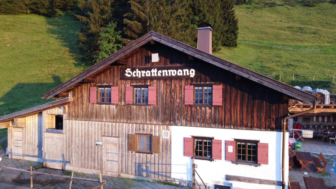 Alpe Schrattenwang Aussenansicht