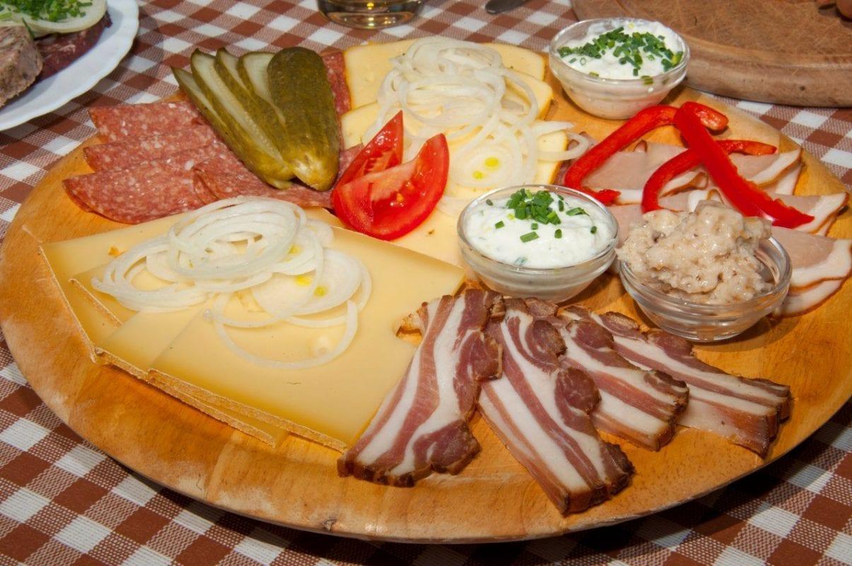 Alpe Zunkleiten Brotzeit