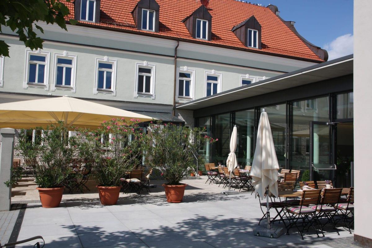 Alte Brauerei Mertingen Biergarten