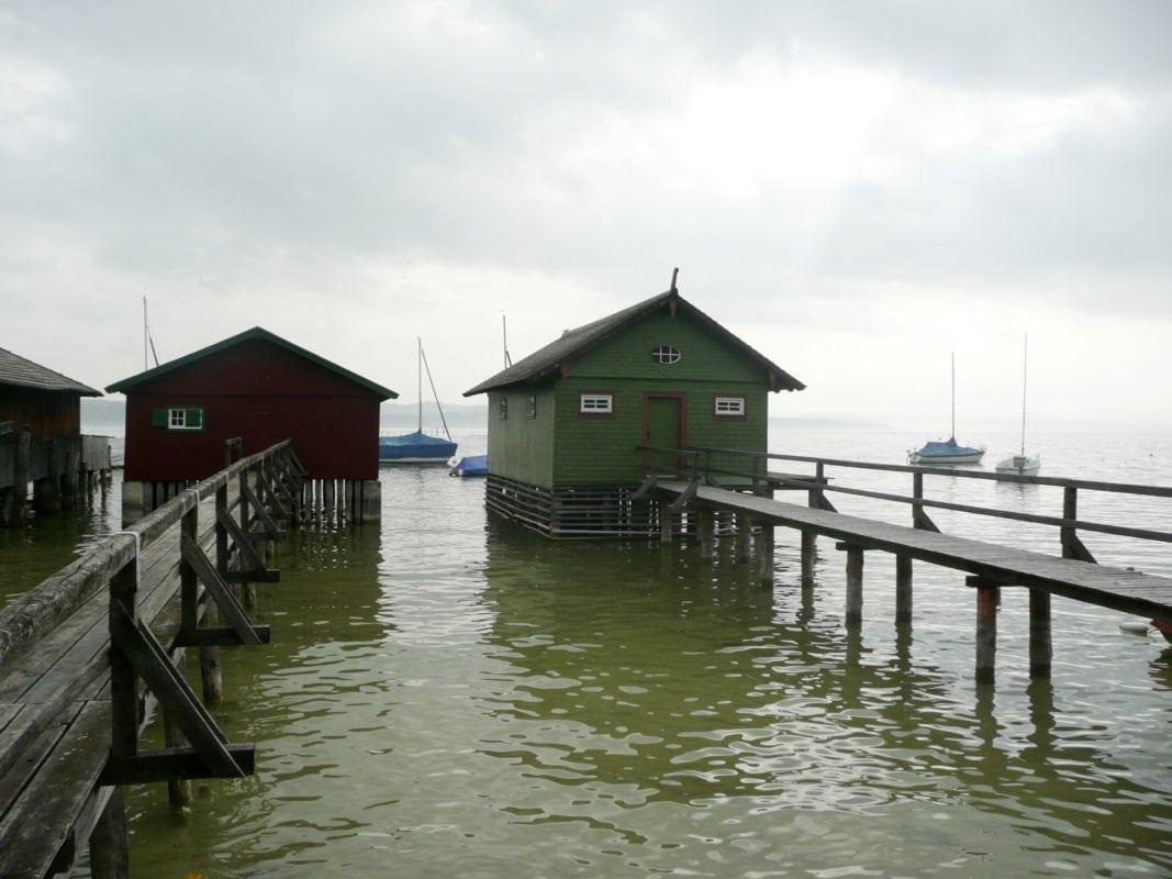 Bootshäuser am Ammersee