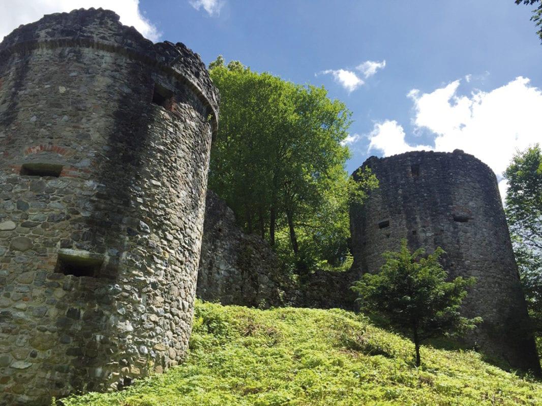 Argenbühl Burgruine Ratzenried