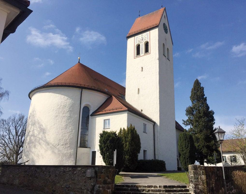 Argenbühl Eglofs Pfarrkirche St. Martin