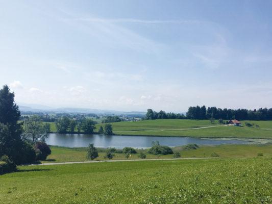 Argenbühl Schlossweiher Siggen