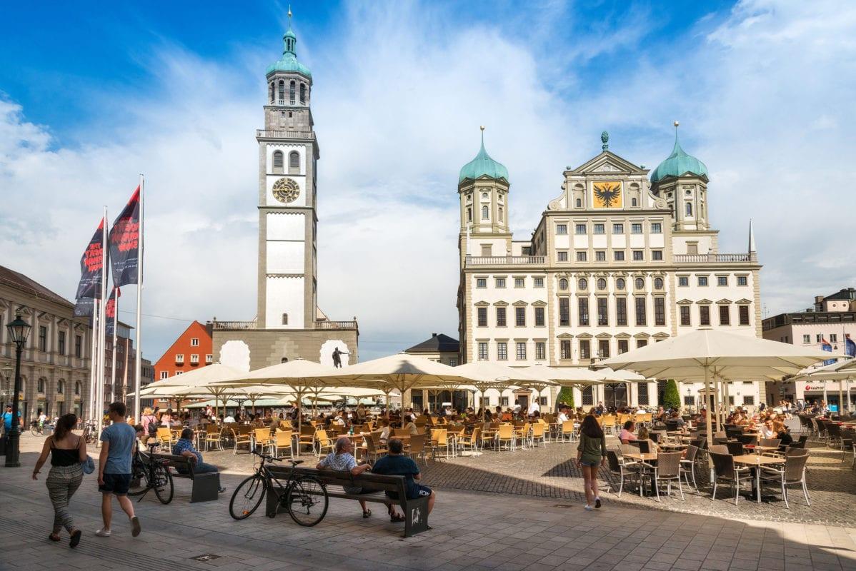 Rathaus und Perlachturm (Augsburg)