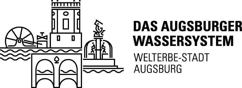 Augsburger Wassersystem Unesco Welterbe Logo