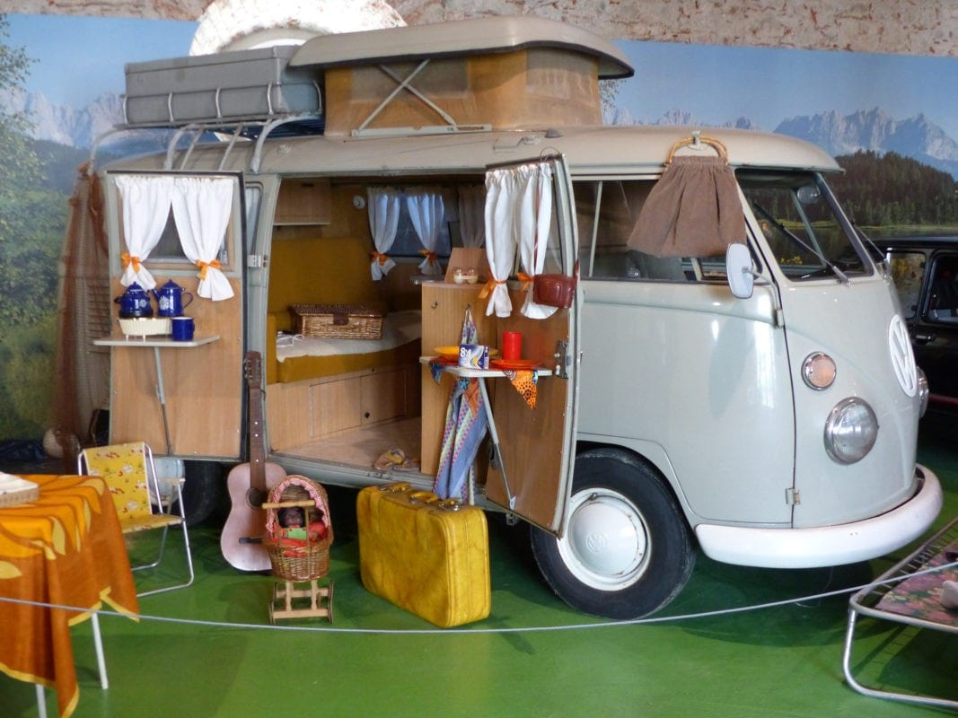 VW-Bus im Automuseum Wolfegg