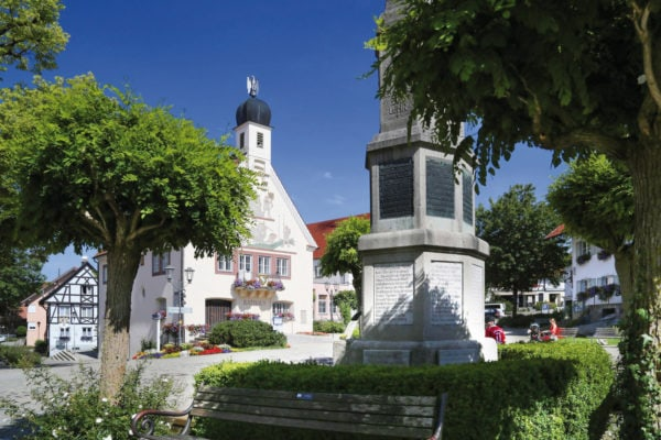 Bad Grönenbach Marktplatz