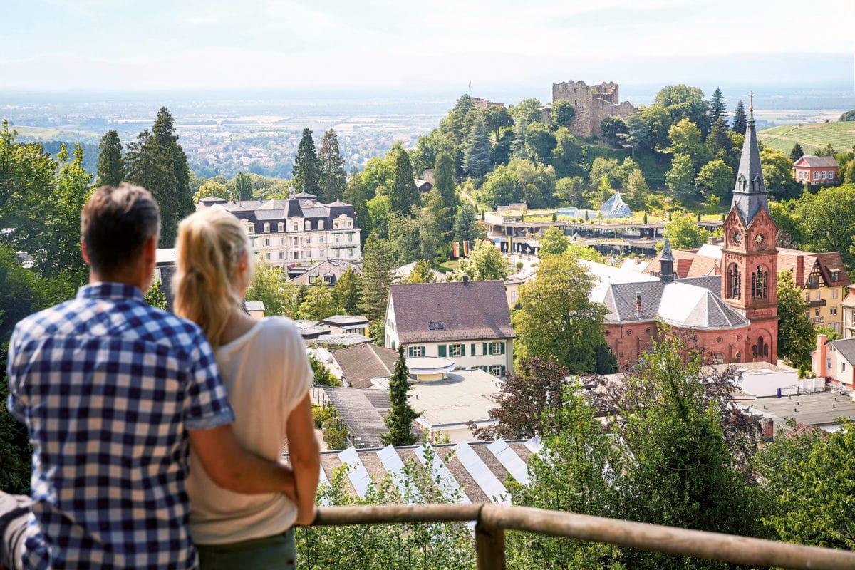 Badenweiler Ortsansicht
