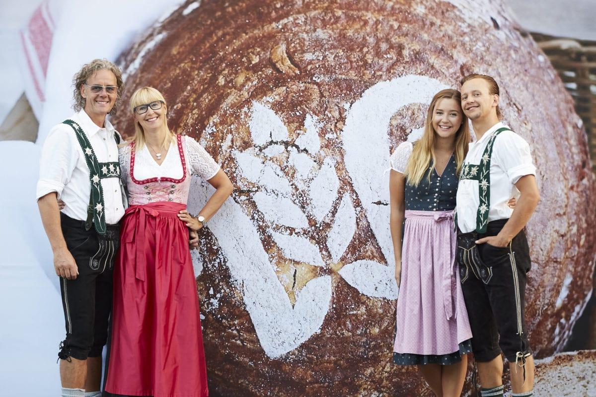 Bäckerei Wirthensohn Sonthofen Familie