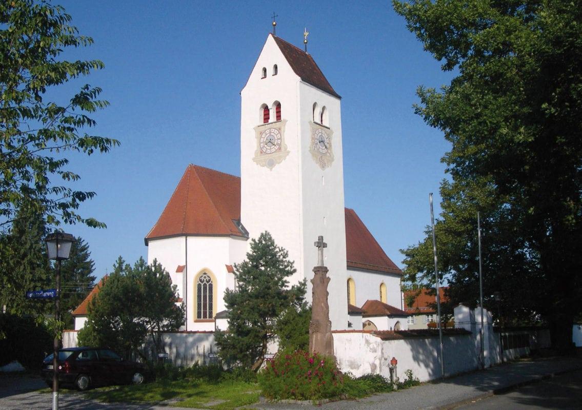 Betzigau Pfarrkirche St. Afra