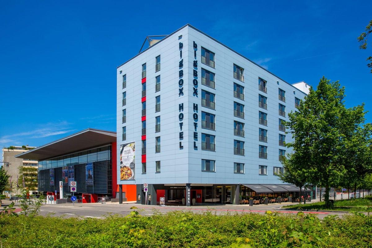 bigBOX ALLGÄU Hotel Kempten Aussenansicht