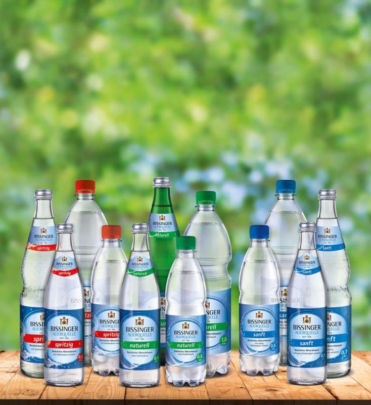 Bissinger Auerquelle Sortiment Wasser