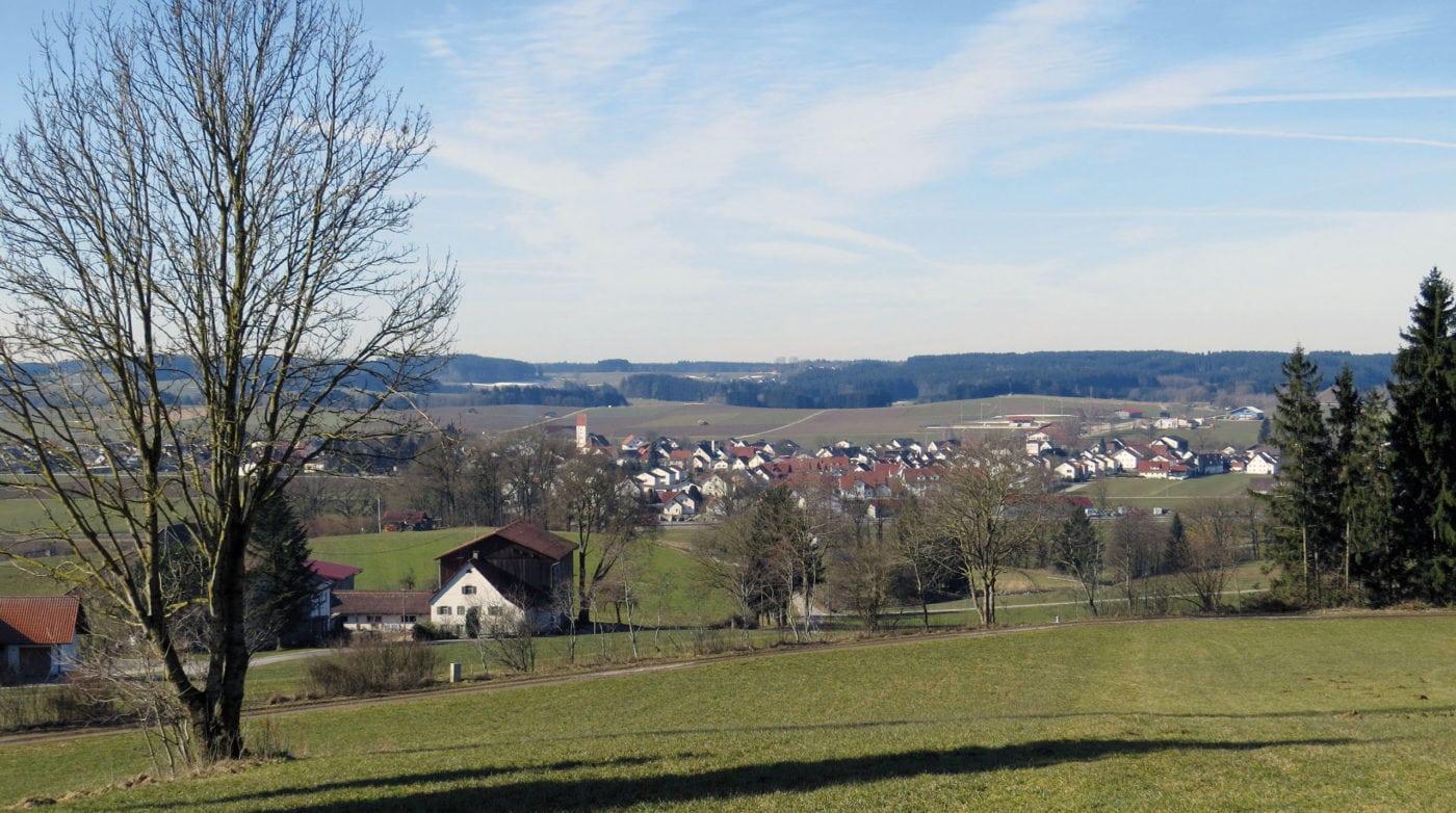 Blick auf Breitenbrunn