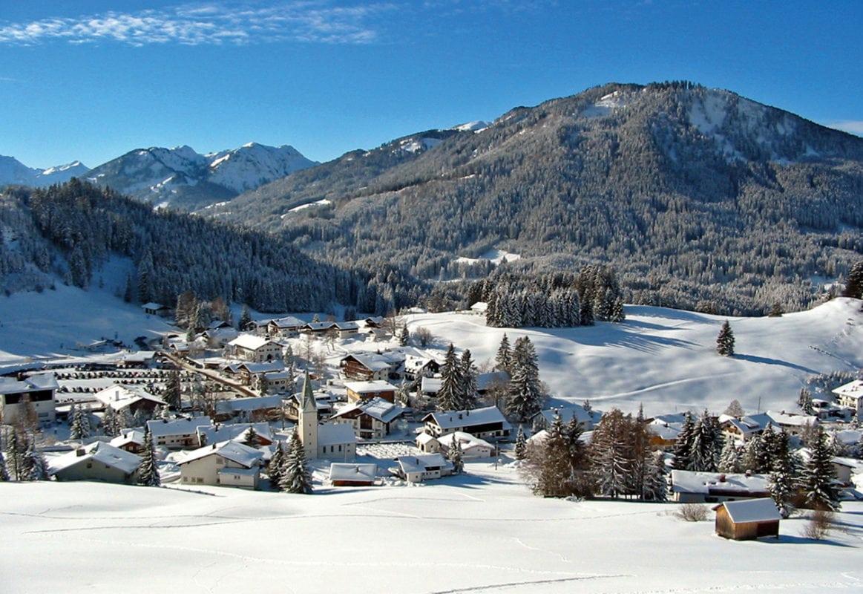 Blick auf Jungholz (Winter)