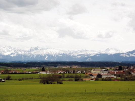 Blick auf Ruderatshofen