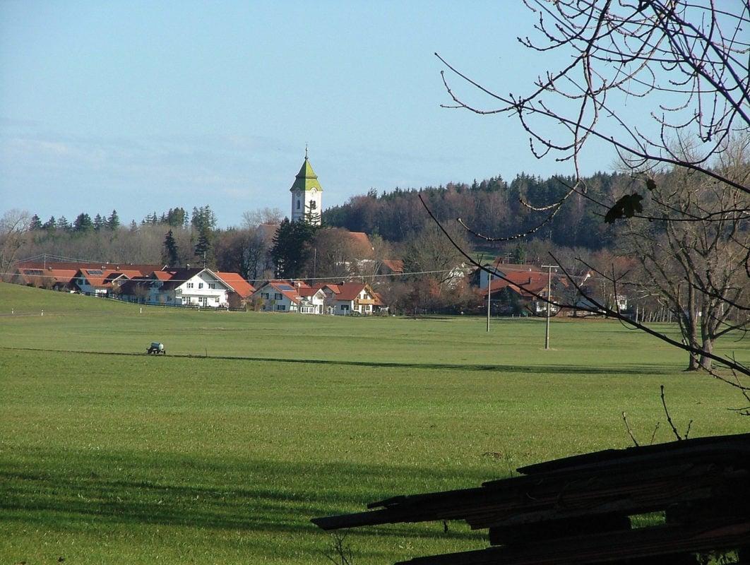 Blick auf Stöttwang