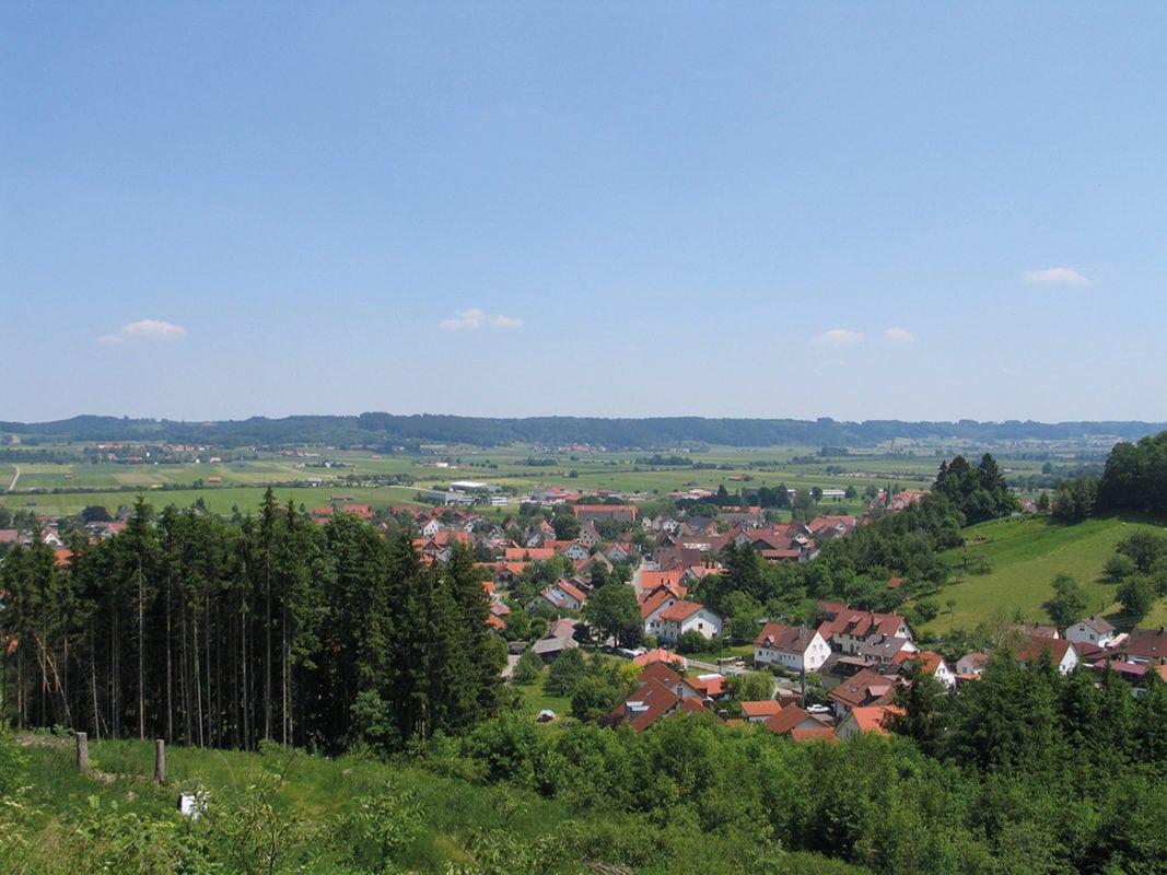 Blick auf Woringen