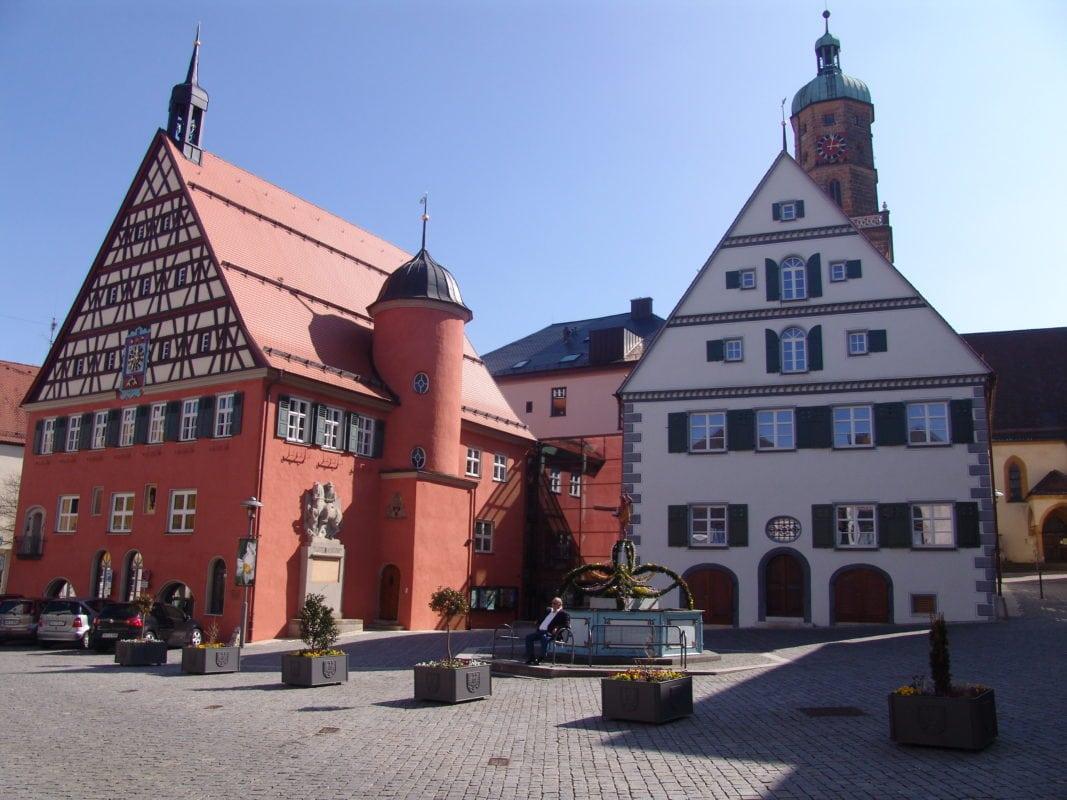 Rathaus und Marktplatz (Bopfingen)
