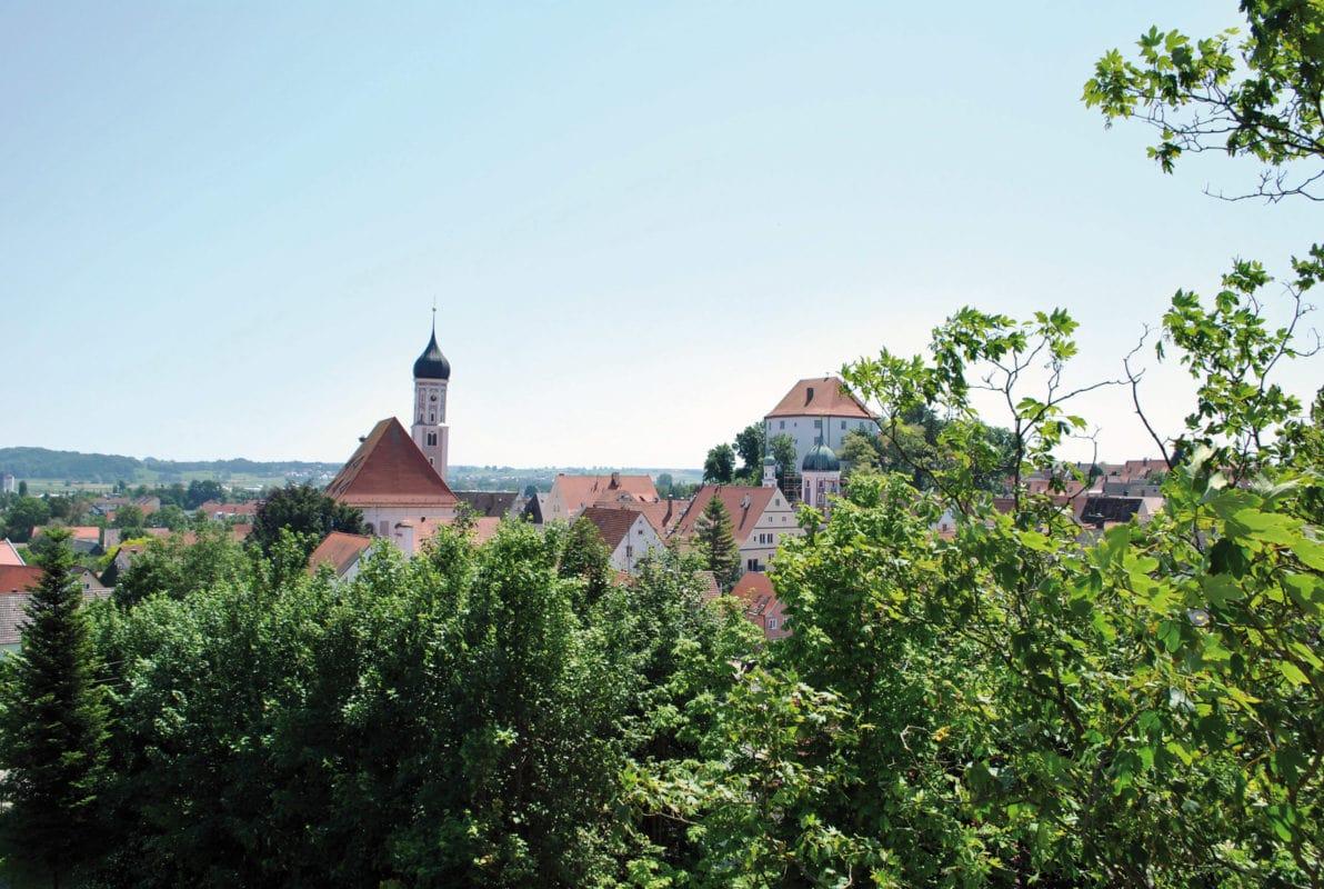 Burgau (Blick auf die Stadt)