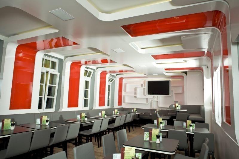 Central Café Bistro Bar Peiting Sitzbereiche