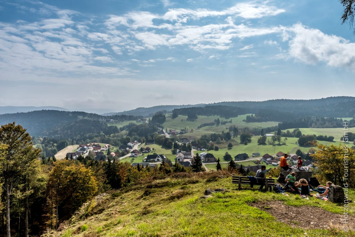 Dachsberg Wanderpause