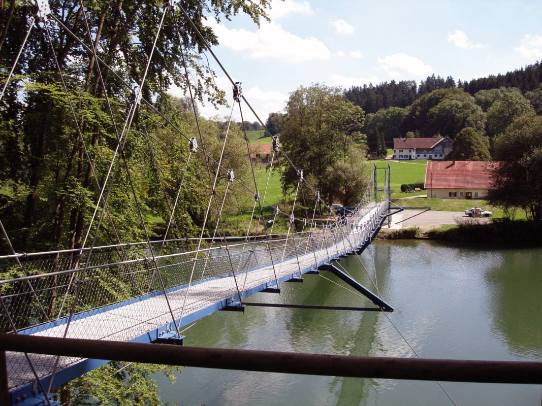 Dietmannsried Hängebrücke Fischers