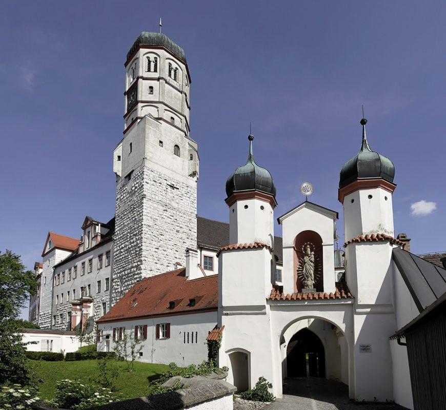 Schloss mit Marientor (Dillingen)