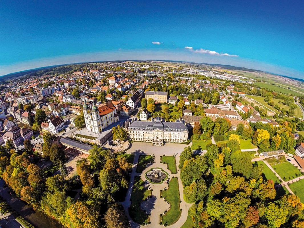 Donaueschingen Luftbild