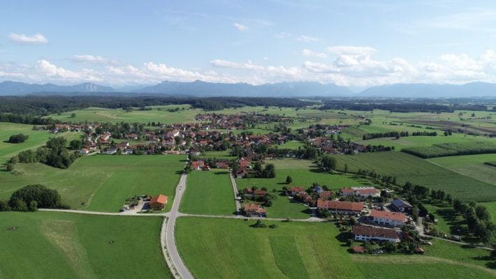 Eberfing (Luftaufnahme)