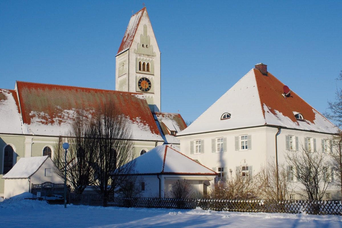Erkheim Pfarrkirche Mariä Himmelfahrt