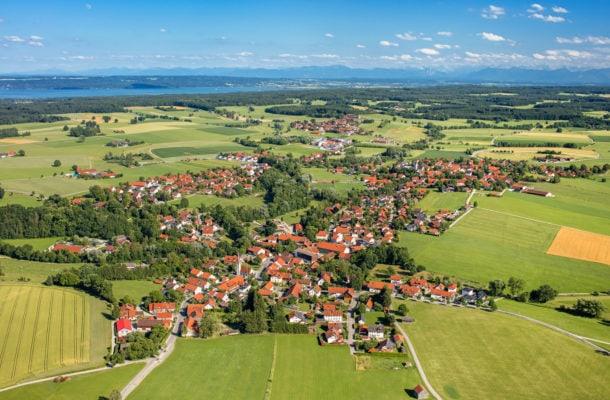 Finning (Luftaufnahme)