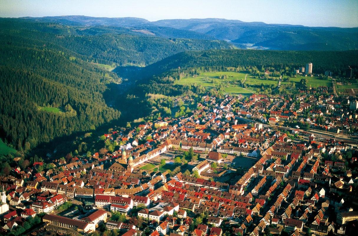 Freudenstadt Luftaufnahme