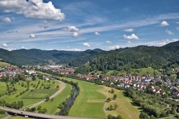 Hausach Panoramabild