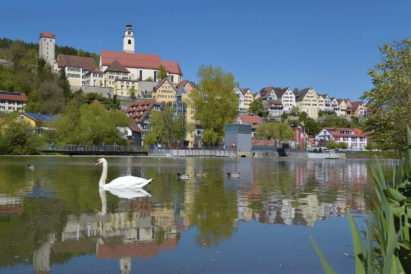 Horb am Neckar Stadtsilhouette