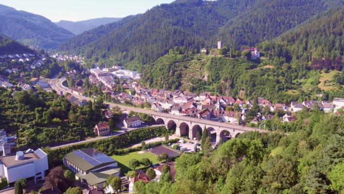 Hornberg - Blick vom Rehberg