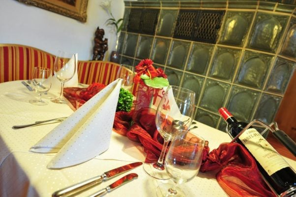 Hotel Restaurant Eberbacher Hof Biberach - Festliche Tafel