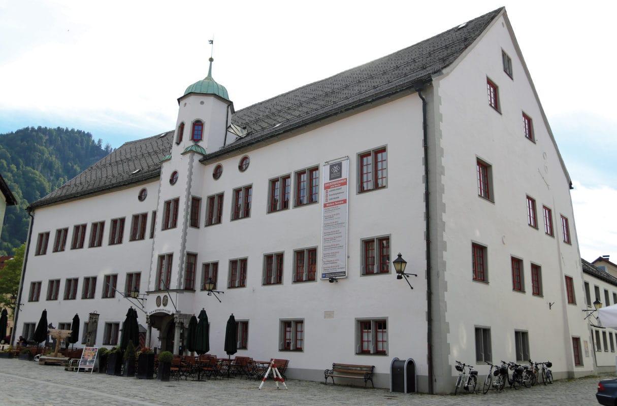 Immenstadt Schloss Marienplatz