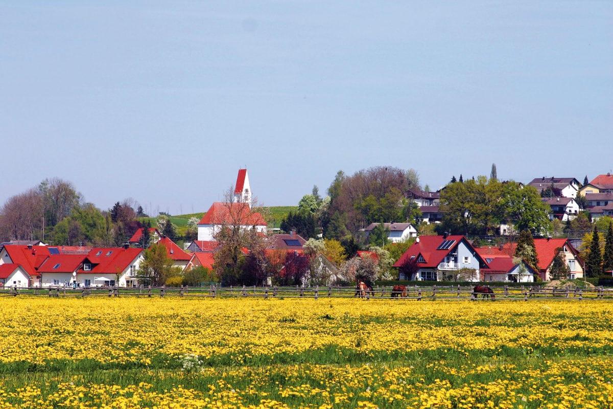 Kirchheim in Schwaben Ortsansicht