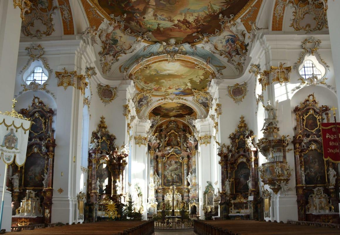 Kloster Roggenburg (Klosterkirche)