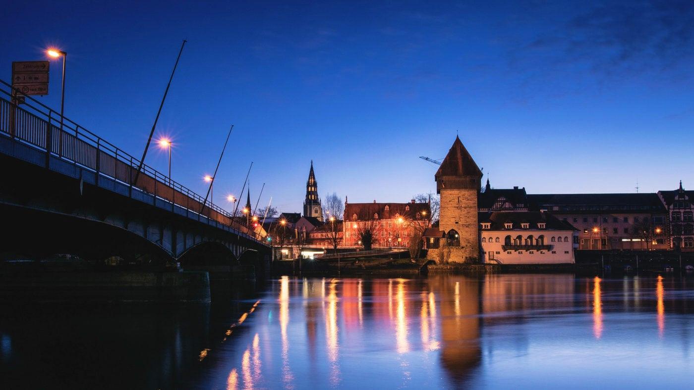 Konstanz bei Nacht