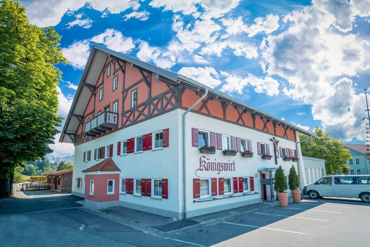 Landgasthof Königswirt Marktoberdorf-Bertoldshofen Aussenansicht