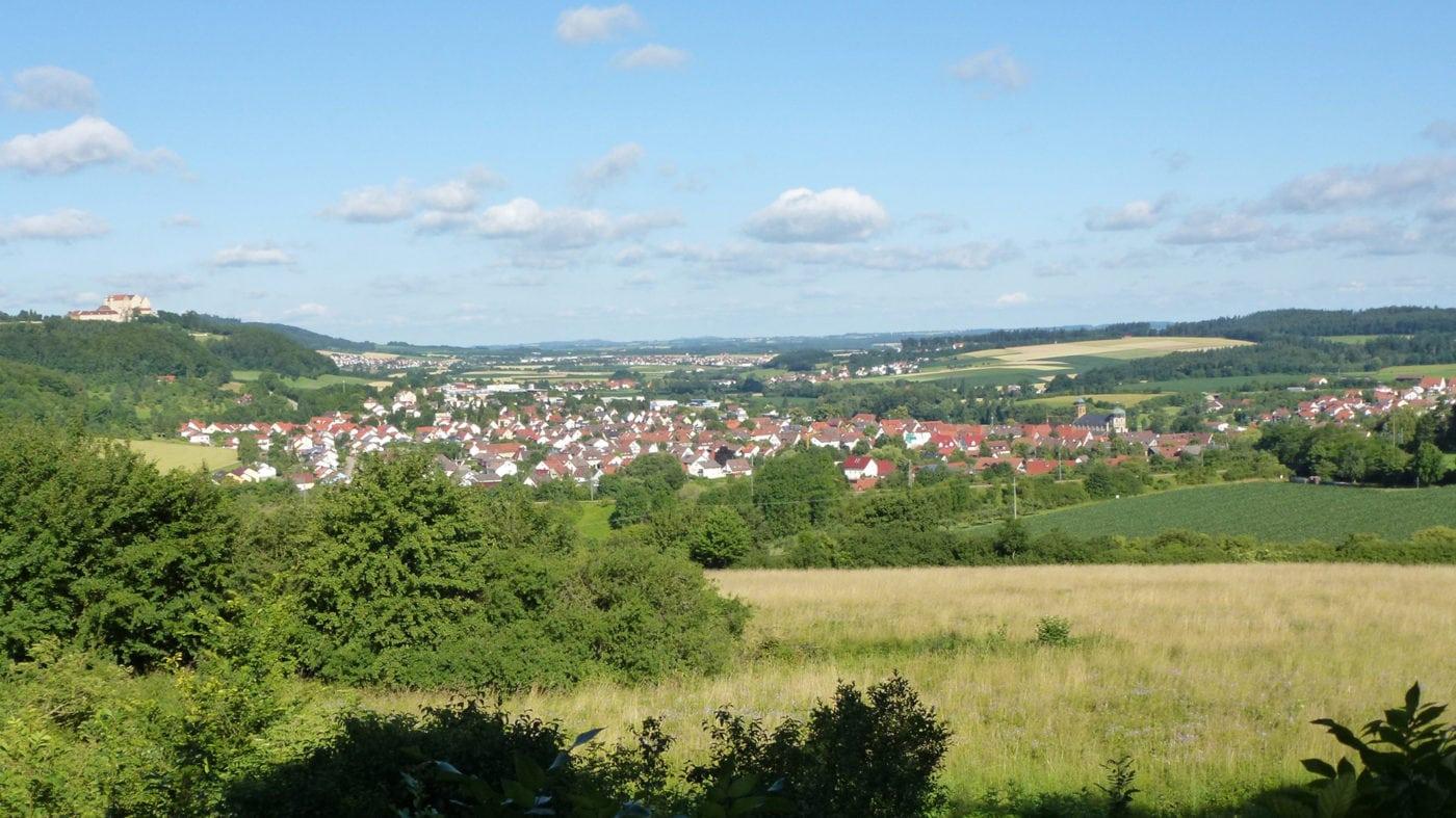 Lauchheim (Blick auf die Stadt)