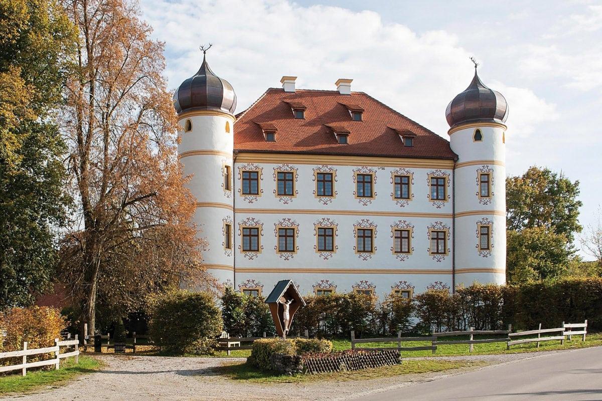 Markt Wald Fuggerschloss